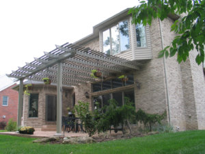 Attached Pergola Louisville KY