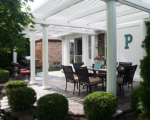 Louvered Pergola Louisville KY